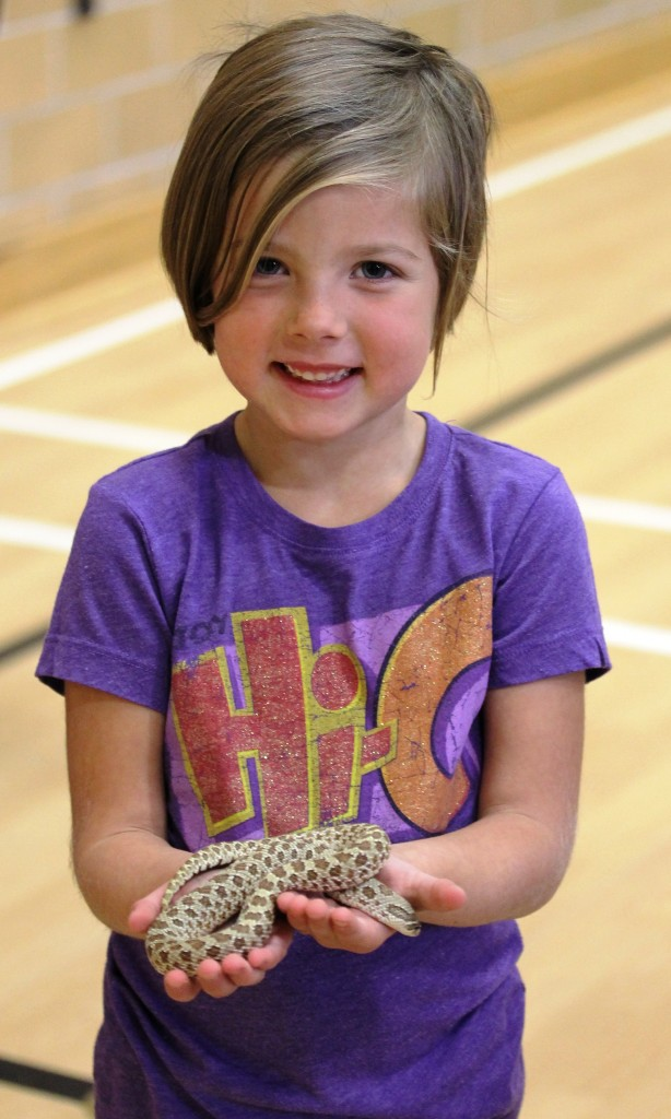 Girl with Hognose